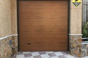 Panel acanalado - Imitación madera claro